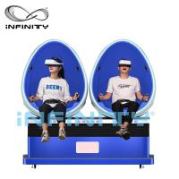 Quality Virtual Reality Smart HD 9D Egg VR Cinema 360 Degree Rotation For Amusement Park for sale
