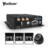 Quality 1080P AHD Mobile DVR System Real Time G Sensor 3G 4G SD Mini Car Security CMSV6 for sale
