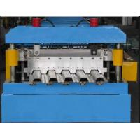 China 380 V 50 Hz Auto Roll Forming Line , Floor Plate Rolling Form Machine on sale