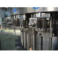 Quality Three in One Liquid Filling Machine , Carbonated Drink Filling Plant for Gas beverage 110V for sale