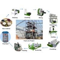 Buy cheap Poultry Livestock Feed Pellet Production Line 2 - 3t/H Capacity For Farm from wholesalers