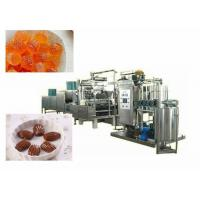 Quality Compact Lollipop Candy Making Machine Depositing Speed 55~65n / Min for sale