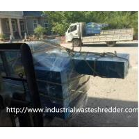 Quality Custom Speed Small Fabric Shredder , Waste Carpet Shredding Machines Low Power Demand for sale