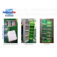 Quality Beverage Drinks Floor Shelf Pop Up Display Stands 5 Tiers 76kgs Holding Capacity for sale