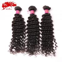 Quality Ali Queen Unprocessed 3Pcs Malaysian Deep Wave Hair 100% Virgin Human Hair Free Shipping for sale
