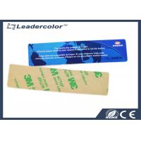 Quality Tamper Evident Long Range uhf rfid labels Reading with Cutlines , 3M Sticker for sale