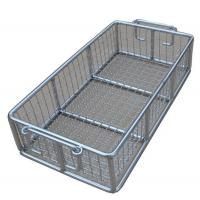 Buy cheap Stainless Steel Metal Wire Basket for fruit washing / frying /steaming from wholesalers