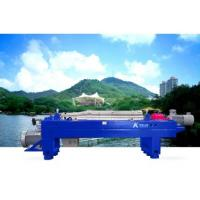 Quality Waste Incineration 3 Phase Decanter Centrifuge Fly Ash Treatment Blue Or Green for sale