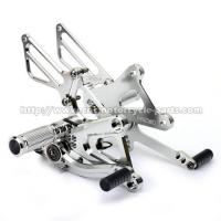 Quality Motorcycle Honda Rearsets , CNC Milling Aluminum Adjustable Rearsets TUV Standard for sale