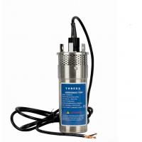 China No Noise 12 Volt Submersible Pump , Dc Powered Submersible Water Pump 38mm on sale