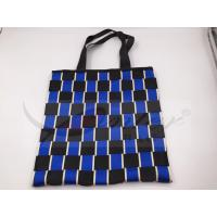 Quality Two Tone Nylon Webbing Polyester Handbags For Shopping Customized Design for sale