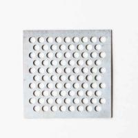 China Galvanized Round Hole Perforated Sheet For Acoustical Enclosures on sale