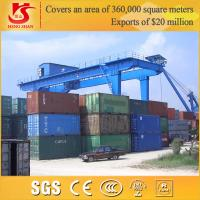 China RMG Type Mobile Container Spreader Gantry Crane with Best Price Supplier on sale