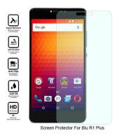 Quality No Bubble Blu R1 Plus Clear Screen Guard , Oleophobic Clear Tempered Glass for sale