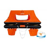 Quality Rubber Marine Life Raft Lightweight Construction SOLAS Standard For Small Craft for sale