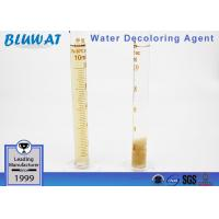 China Unique High Efficient Flocculant Decoloring Agent For Color Wastewater on sale