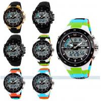 China Multifunction Sport Watch Branded Logo Colorful Strap Unisex Watch on sale