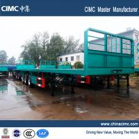 China 40ft superlink trailers with 385/65R22.5 single tire for sale on sale