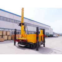 Hydraulic Winch Crawler Mounted Water Well Drilling Rig for 90 - 300 mm Big Hole Diameter