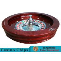 "Quality Luxury Casino Gaming Standard Solid Wood 32"" Roulette Wheel Dedicated For Roulette Poker Table for sale"