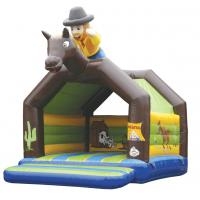 Quality Rent Happy Hop Inflatable Jumping Castle For Children PVC EN14960 for sale
