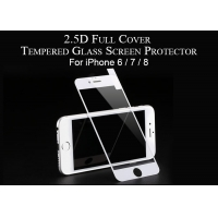 China 2.5D Full Cover 9H iPhone Glass Screen Protector on sale
