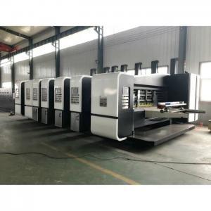 China High Speed Automatic Carton Making Machine Box Maker Printer Slotter Die Cutter on sale