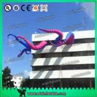 Quality Purple And Pink Event Party Decoration 5m Inflatable Tentacle Customized for sale