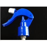 Buy cheap Blue Plastic Ø28 / 400 Trigger Sprayer For Cosmetic, Window Cleaning Agents AM from wholesalers
