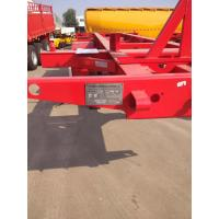 Quality 20ft skeleton semi trailer 2 axles/ bare chassis trailer for sale