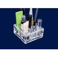Quality Acrylic Makeup Storage Organizer Retail Window With 9 Round Compartments for sale