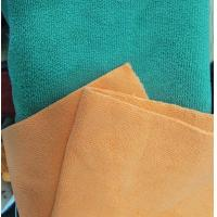 Quality Microfiber Green 160cm Width 300gsm Super Absorbent Cleaning Terry Fabric for sale