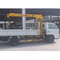 Quality Weight Transportation Boom Truck Mounted Crane , 4.2 T.M 2.1 ton for sale