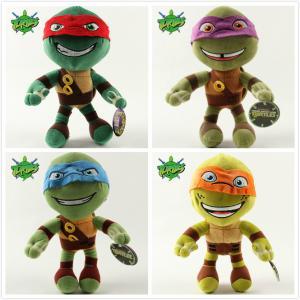 China Teenage Mutant Ninja Turtles 2 Cartoon Stuffed Kids Plush Toys 12 inch on sale