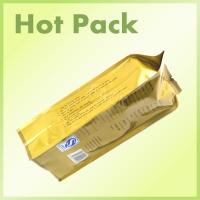 Heat Sealed Aluminum Foil Bags For Food Packaging With Tin Tie Various Size
