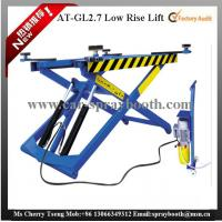 China AT-GL2.7 Thin Structure Hydraulic Car Lift , Automotive Scissor Lift For Tyre Repair on sale