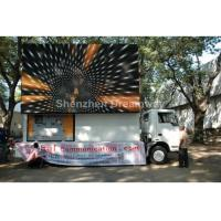 Quality Square Static P 16 Rotatable Truck Mobile LED Display Full Color With 256 by 256 mm for sale