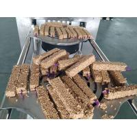 Quality Snack Bar Entry Level Automatic Cereal Bar Forming Machine High Speed Production for sale