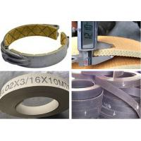 Flexible Brake Band Lining Woven Roll Lining With Brass Wire Reinforced