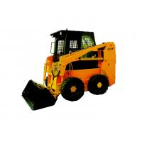 China High Efficiency Skid Steer Machine Quick Hitch , Skid Loader Tracks 245F on sale