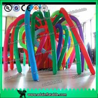 Quality Colorful 3M Oxford Cloth Inflatable Tree for sale