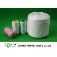 Quality Low Shrinkage Polyester Industrial Sewing Threads With TFO Or Ring Spun Technics for sale