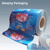 Quality Plastic Printed Ice Cream Packaging Roll Stock With Multiple Extrusion for sale