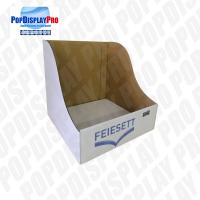 Quality Table Top Paper PDQ Tray Display Simple Structure For Household Cleaning Brush for sale