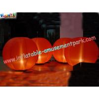 China Outdoor colorful 2 Meter high Inflatable Lighting Decoration with common light or Led on sale