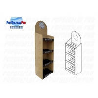 Quality FSDU Shelving Red Wine Wood/MDF Permanent Merchandising Display Stand Heavyduty Holding Capacity for sale