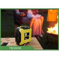 Quality Portable Power Station 300W Camping Power Source Backup Energy Storage System for sale