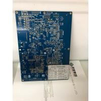 Quality Automotive 4 Layer Immersion Gold PCB Board With Blue Solder Mask for sale