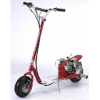 Quality ScooterX 49cc Dirt Dog Gas Scooter With Rear Foot Pegs for sale