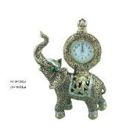 China Home Decoration Resin Elephant with Clock (XY10-0035A) on sale
